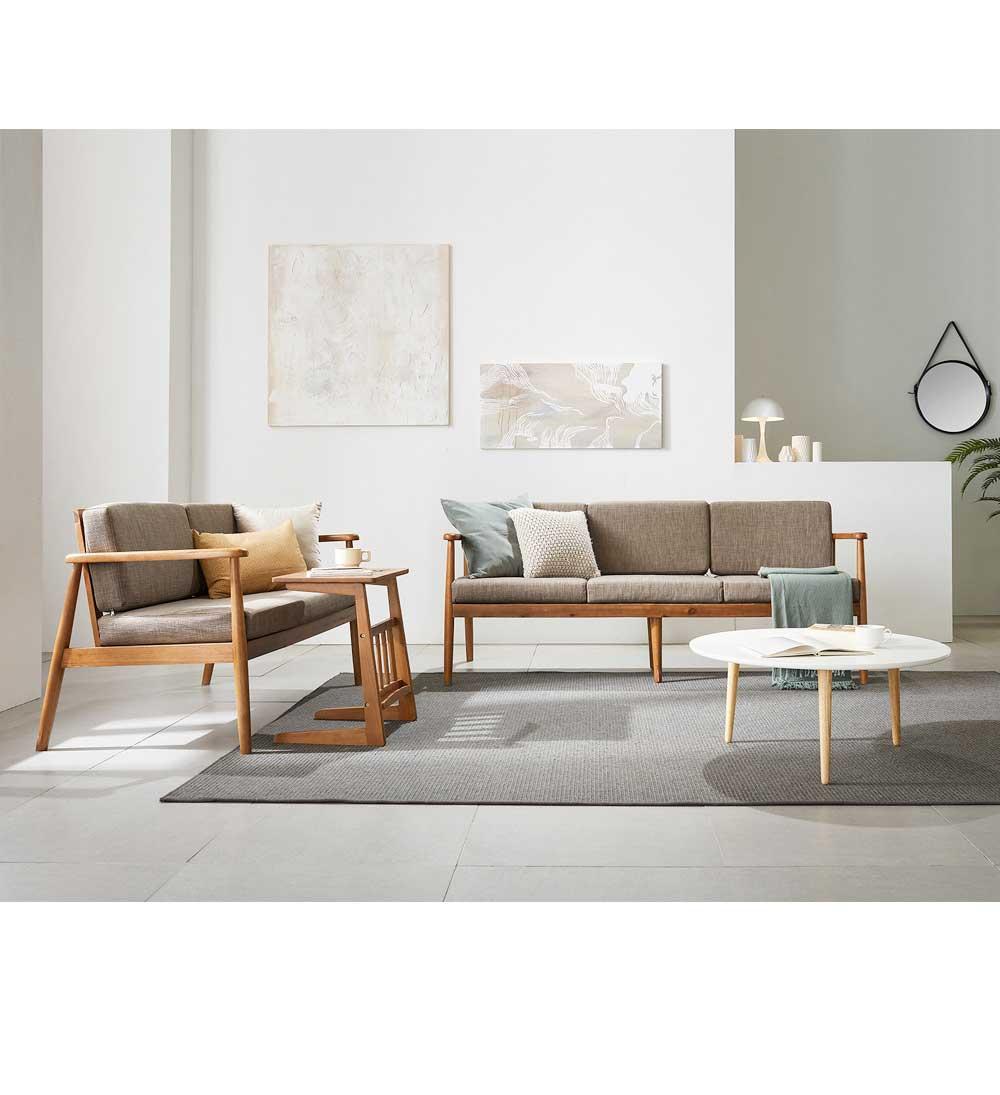 리치 원목 사이드 소파 테이블 Large - 웨어하우스, 99,200원, 미니 테이블, 노트북 테이블